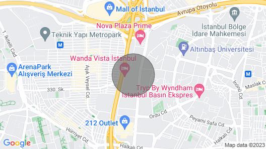 Beautiful Elegant 2 Bedrooms Near Mall of Istanbul Map