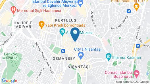 Vizon Hotel Map