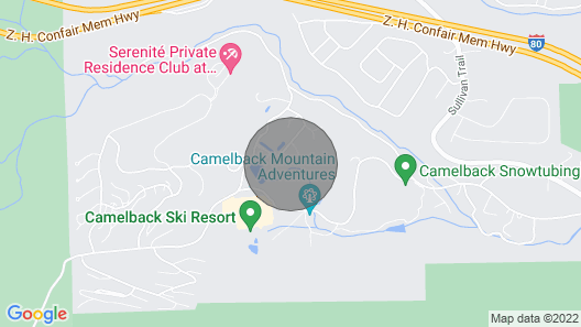 New! Well-appointed Villa W/sauna at Camelback Mtn Map