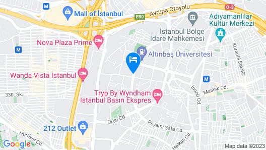 Qua Hotel Map