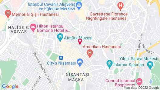 Canka Residence Map