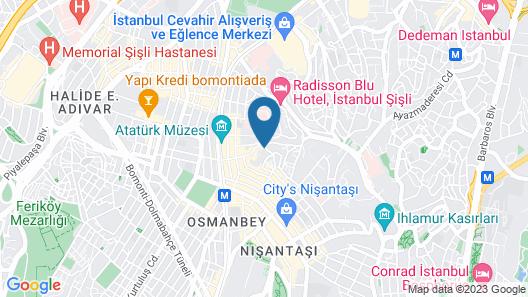 Nisantasi Residence Map