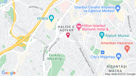 Fraser Place Anthill Istanbul Map