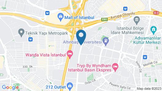 Centro Westside by Rotana Map