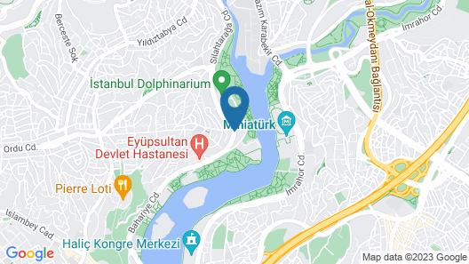 Movenpick Hotel Istanbul Golden Horn Map