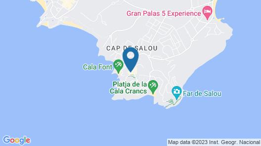 Hotel Best Cap Salou Map