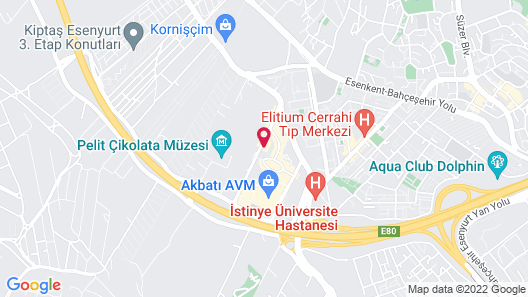Koza Park Esenyurt Istanbul Map