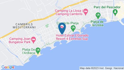 Estival Eldorado Resort Map