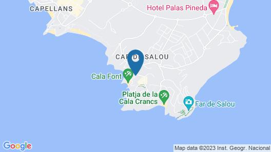Cala Font Map