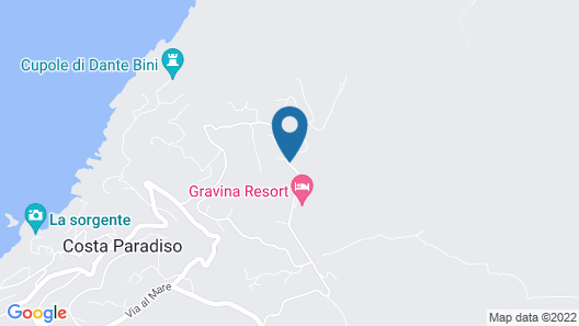 Gravina Resort Map
