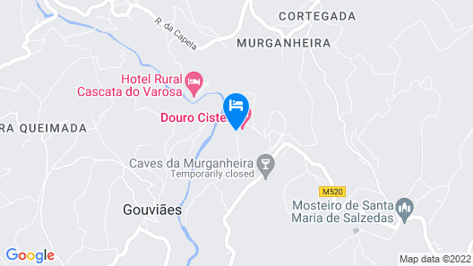 Douro Cister Hotel Resort Rural & Spa  Map