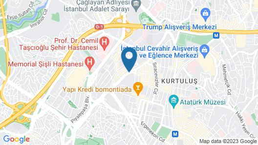 ibis Styles Istanbul Bomonti Map