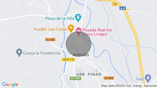 Piso Céntrico con Terraza Map