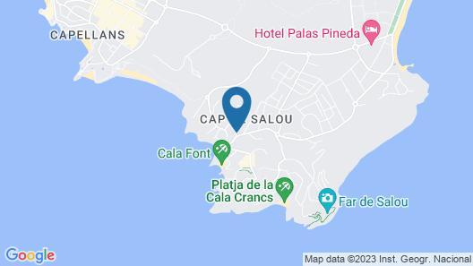 Apart-Hotel SunClub Salou Map