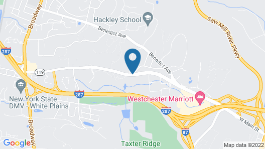 SpringHill Suites by Marriott Tarrytown Westchester County Map