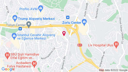 Dedeman Istanbul Map