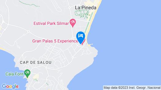 Gran Palas Hotel - Spa incluido Map