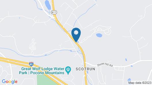 Scotrun RV Resort - Campground Map