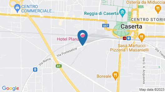 Hotel Plana Map