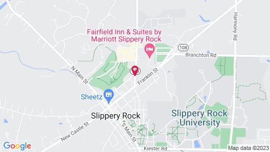 Fairfield Inn & Suites by Marriott Slippery Rock Map