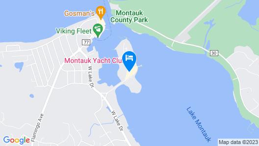 Gurney's Star Island Resort & Marina Map