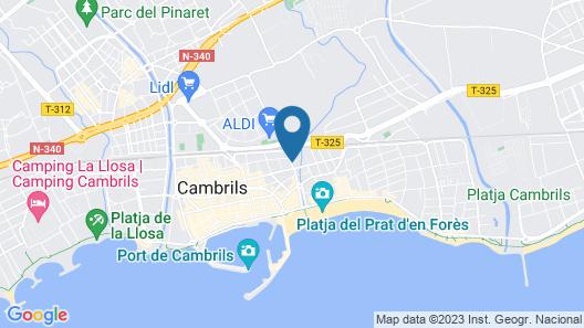 Sol Port Cambrils Map