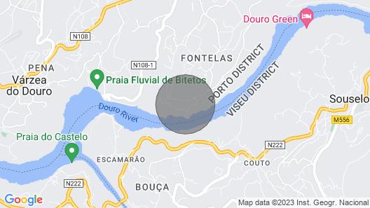 Casa de Gondomil for 4 People Map