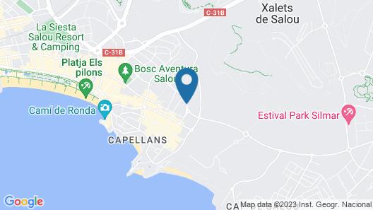 Medplaya Hotel Calypso Map