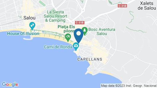 Aparthotel Almonsa Platja Map