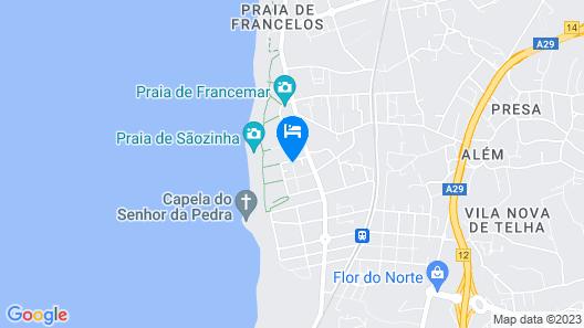 Live Porto & Douro - Miramar Map