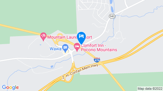 Holiday Inn Express & Suites White Haven - Poconos, an IHG Hotel Map