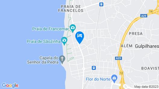 Céu Azul Map