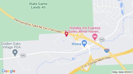 Mountain Laurel Resort Map