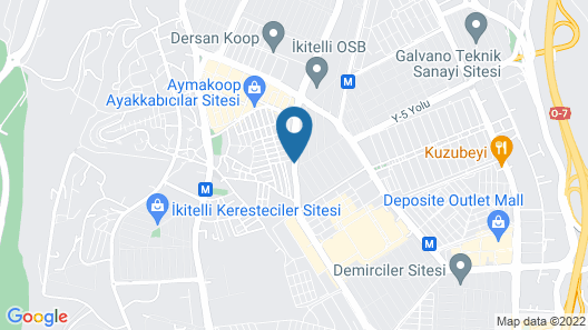 Mall Of İstanbul The Residence Map