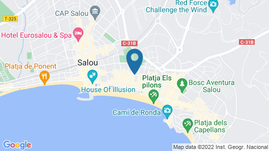 Magnolia Hotel Salou - Adults Only Map