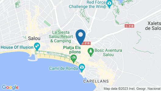 Apartaments CYE SALOU Map