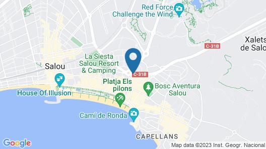 Murillo Apartamentos Map