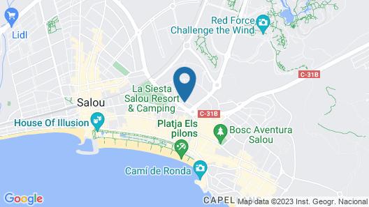 H10 Vintage Salou Map