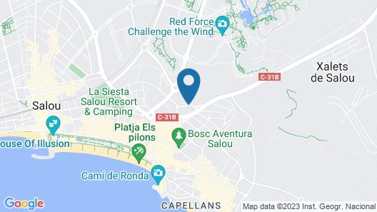 Dorada Palace Map