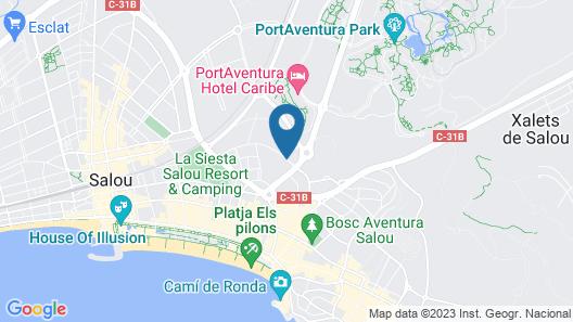 Ohtels Belvedere Map