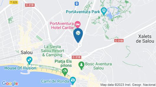 H10 Salauris Palace Map