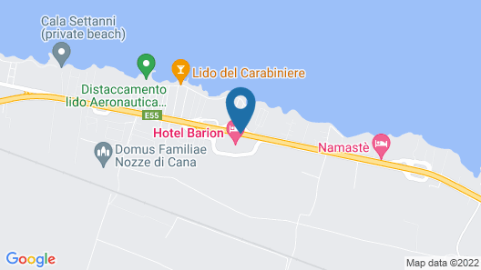Barion Hotel Map