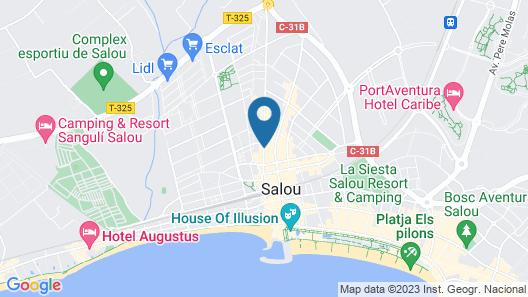 Eurosalou Hotel & Spa Map