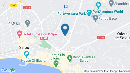 Ohtels Vila Romana Map