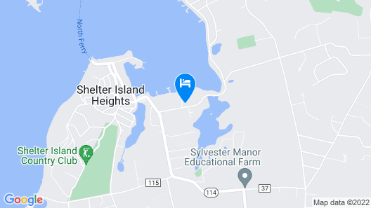 Dering Harbor Inn Map