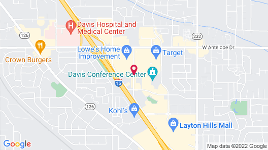 TownePlace Suites by Marriott Salt Lake City Layton Map