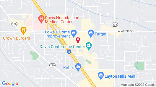 Courtyard by Marriott Layton Map