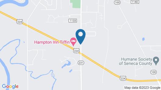 Hampton Inn by Hilton Tiffin Map