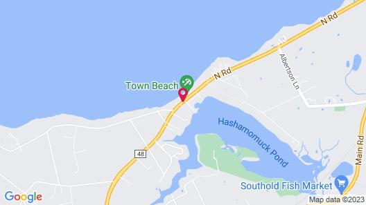 Southold Beach Motel Map