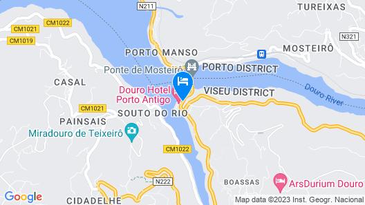 Hotel Porto Antigo Map